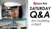 Quick Kits 我要做一艘船吗 + 其他问题 - Q&A