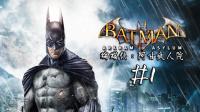 《蝙蝠侠:阿甘疯人院》剧情向流程解说 01