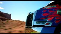 《变形金刚4: 绝境重生》擎天柱轻松扫一扫瞬间变新车