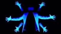【电音夜光手指舞】Xtrap诡异风Tutting编舞Glowing Shapes