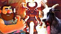 【屌德斯解说】 白日梦伙计 大结局下篇 模拟山羊变身恶魔撒旦,,打倒最终BOSS后终于醒啦!
