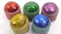 太空沙玩法 DIY泥胶软沙闪光颜色水球 颜色粘泥做法天使沙动力砂【俊和他的玩具们