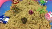 变形警车珀利海利安巴太空沙挖宝藏 13