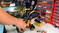 学习挖掘机从娃娃抓起: 乐高科技组系列42053沃尔沃挖斗机