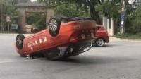 国内近期车祸合集 第一百四十三期 (男子路中间睡着, 被玩手机司机碾压致死)