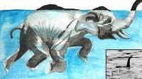 一头大象下河洗个澡,竟成了世界之谜?