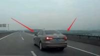 《交通出行》凯迪拉克高速突然急刹, 吉利博瑞完美技术精准避让