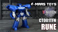 TFNation 2017 MAAS Toys C001TFN Rune Transformers Glyph
