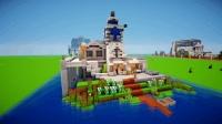 miencraft创意建筑: 旅店