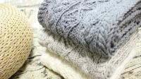 织一片慢生活----阿伦花样麻花菱形围巾