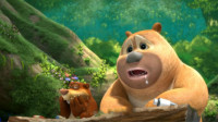熊出没之熊熊乐园 熊大熊二光头强来袭第119期筱白解说