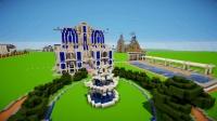 minecraft个人创意设计: 国际度假酒店1