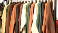 阿邦服装批发8.23-6百分之三十羊毛中长开衫10件起批, 时尚百搭