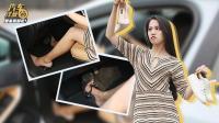 美腿体验! 为啥女司机穿高跟鞋开车会不安全?