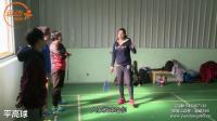 美女教练在线教球46期 杜杜教练教你如何打出进攻性的平高球 羽毛球教学视频