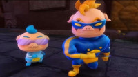 猪猪侠之光明守卫者 超星萌宠 第45期 同心协力 挑战恶狼怪 胜利归队 陌上千雨