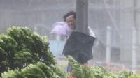震撼的台风场面, 一定要注意安全, 自然灾害面前生命脆弱