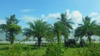 """珠海: 实拍强台风""""天鸽""""登陆前的情侣路, 南国情调风和日丽"""