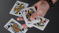 魔术教学: 最牛扑克牌魔术, 瞬间找到4张牌, 居然不用任何手法!