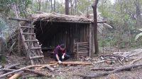 丛林小木屋打造家具,漂亮的小木椅