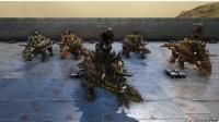 方舟生存进化 5个甲龙VS40个洞穴蜘蛛 暗墨解说VS系列