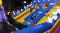 亲子互动游戏《儿童乐园游乐场19》充气城堡溜滑梯 全民健身广场舞 波波球乐园 超级飞侠巨大黄金蛋 奥特曼米老鼠 唐老鸭 冰雪奇缘儿童玩具 小猪佩奇玩具汽车总动员
