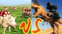 【XY小源】野兽战斗模拟器 第1期 1-5关 霸王龙与二师兄