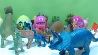 小恐龙守护超级玛丽 海绵宝宝奇趣蛋 惊喜蛋 恐龙世界