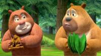 熊出没之熊熊乐园 熊大熊二变身交警斗蜘蛛第125期筱白解说