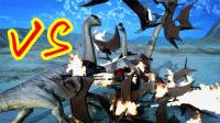 【XY小源】野兽战斗模拟器 第3期 11-15关 一群翼龙