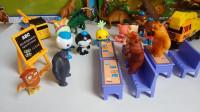 海底小纵队恐龙工程车玩具视频熊出没之熊熊乐园开心课堂玩具套装