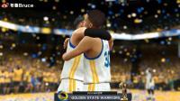 【布鲁NBA2K17实况】生涯模式:三连冠!连续三年总决赛MVP!勇士夺冠(78)