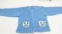 第97集   钩针婴儿小熊装饰小外套