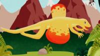 恐龙公园 挖掘侏罗纪 恐龙骨骼考古发现第13期 翼龙似鸟龙 骨骼化石 陌上千雨