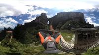 """Insta360 ONE全景相机""""无人机""""跟拍翼装飞行"""