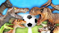 【屌德斯解说】 动物进化战争模拟器 侏罗纪公园恐龙足球大乱斗!还有坦克足球赛!