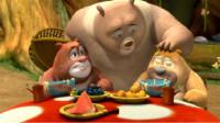 熊出没之熊熊乐园 警察熊大熊二第132期筱白解说