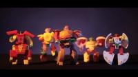 超酷的国产变形金刚玩具,竟然玩出了好莱坞大片的感觉!#校园酱#