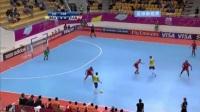 疯狂的桑巴足球,室内五人制足球世界杯,巴西40分钟打进16球