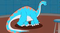 恐龙公园 宝宝恐龙世界 第二期 雷龙简介 拼图 喂食 雷龙跨栏比赛 陌上千雨