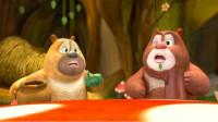 熊出没之熊熊乐园 警察熊大熊二凶猛的猴子第133期筱白解说
