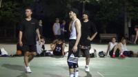 萧敬腾周杰伦空降街球场上演现实版大灌篮, 萧敬腾这水平杠杠的