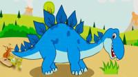 恐龙公园 侏罗纪世界 宝宝恐龙世界第三期 剑龙简介 喂食剑龙 剑龙跨栏 陌上千雨