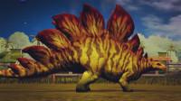 侏罗纪世界 恐龙乐园第45期 异齿龙包头龙食肉牛龙 强强联手 胜利连连 陌上千雨