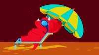 侏罗纪总动员 恐龙公园 三角龙探险 第四期 玩跷跷板 野外烧烤 陌上千雨