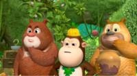 熊出没之熊熊乐园 熊二变身大圣熊二第137期筱白解说