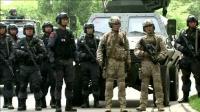 特种部队跟一个班的特警包围了雇佣兵, 敌人引爆人质身上炸弹!