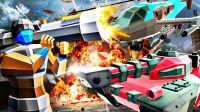 【屌德斯解说】 军队战争模拟器 各种军事武器大混战!解锁史诗坦克和飞艇!