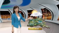 U-Studio 展示 | 天气预报 | 三维虚拟演播室 字幕包装 直播