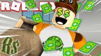 小飞象✘Roblox✘roblox总部逃脱模拟器化身黑客竟被Boss抓住 乐高小游戏